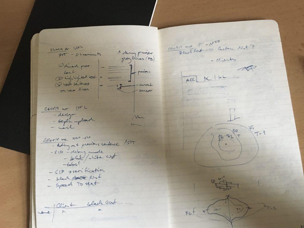 Zápisy z meetingů